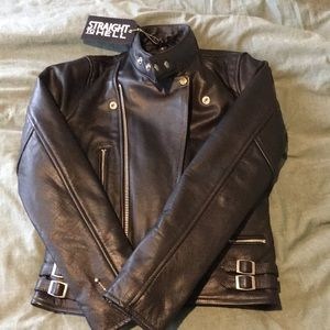 Straight to Hell Marauder leather jacket Small